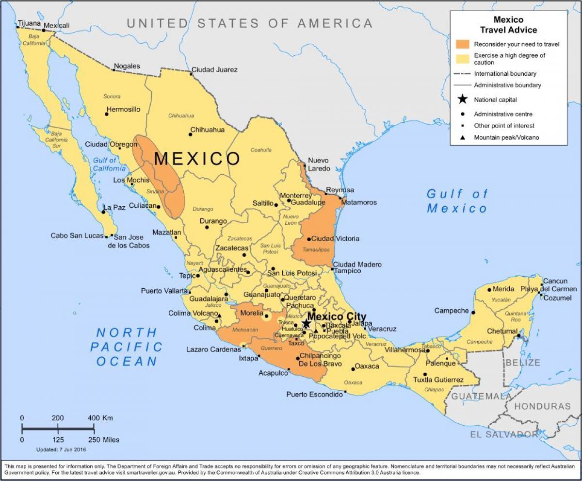 mexikó térkép Időjárás, térkép Mexikó   Időjárás Mexikó térkép (Közép Amerika  mexikó térkép